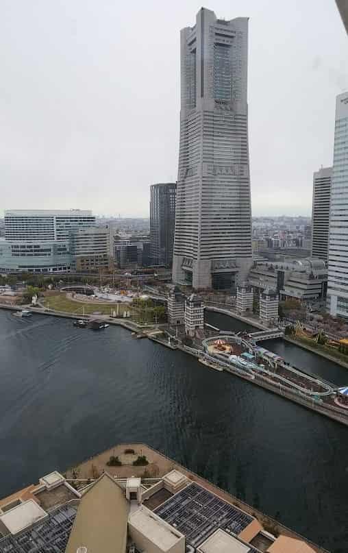 横浜コスモワールド観覧車からの景色